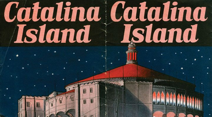 Catalina Island Casino ad