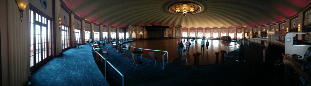 Catalina Casino Ballroom. (photo: Patrick von Sychowski / Celluloid Junkie)