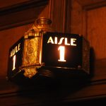 Avalon Theatre entrance light, Catalina. (photo: Patrick von Sychowski / Celluloid Junkie)