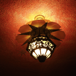 Avalon Theatre lamp. (photo Patrick von Sychowski / Celluloid Junkie)