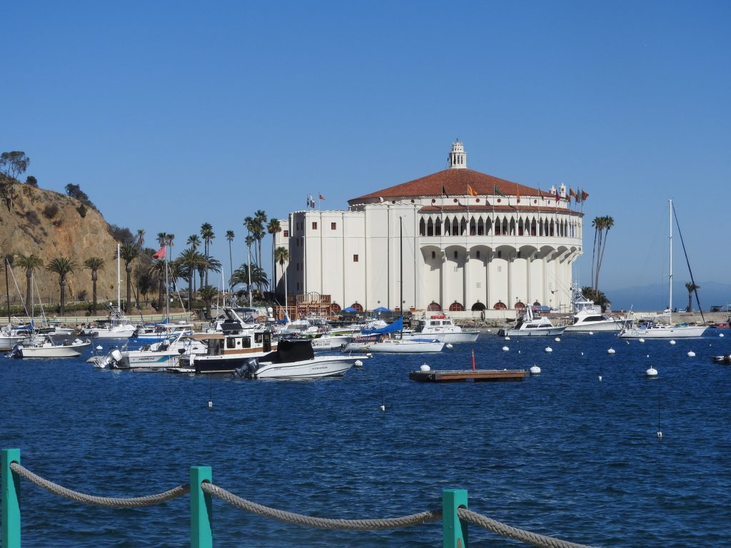Avalon - the Casino on Catalina Island. (photo: Patrick von Sychowski / Celluloid Junkie)
