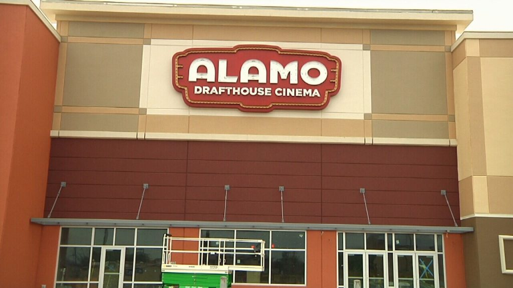 Alamo Drafthouse Corpus Christie - you'll have to wait another week. (photo: KZTV10)
