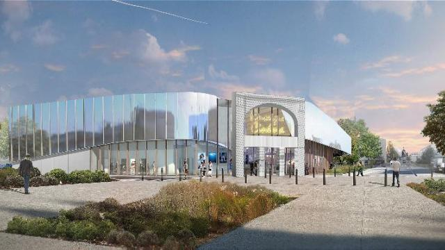 The future Eden 3 cinema in Ancenis. (image: artist's impression)
