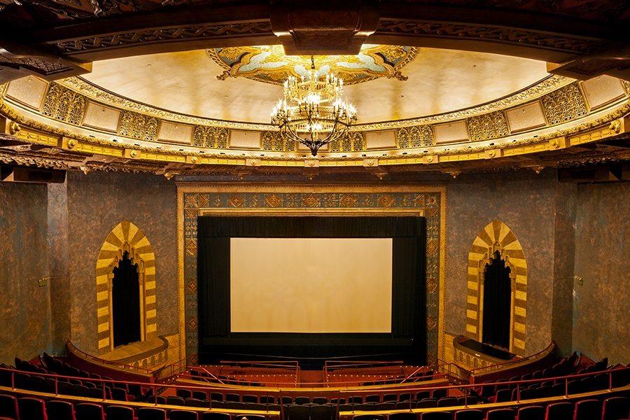 Village East Cinema screen. (photo: James & Karla Murray / 6ftsq)