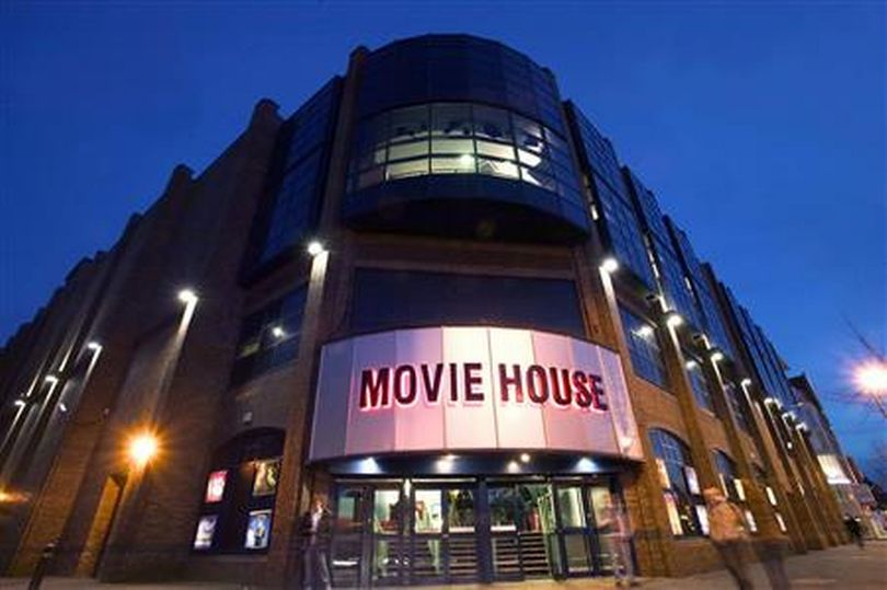 Belfast Movie House Cinemas plans. (image: artist's impression)