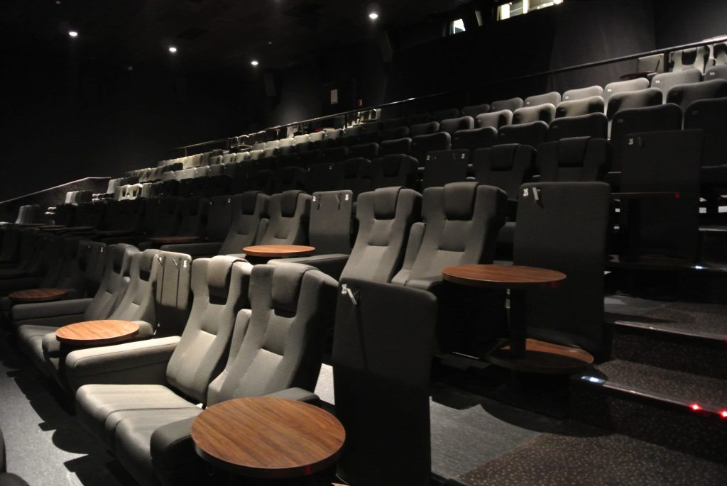 Comfy seats in Kinepolis. (photo: Kinepolis)