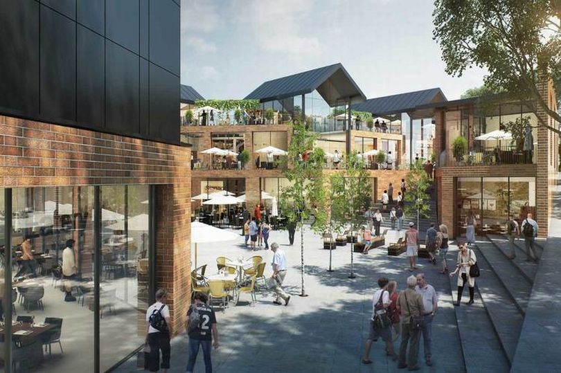 Macclesfield's £15m cinema plans are 'go'. (image: artist's impression)
