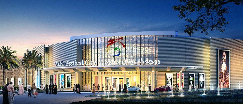 Doha Festival City mall. (image: artist's impression)