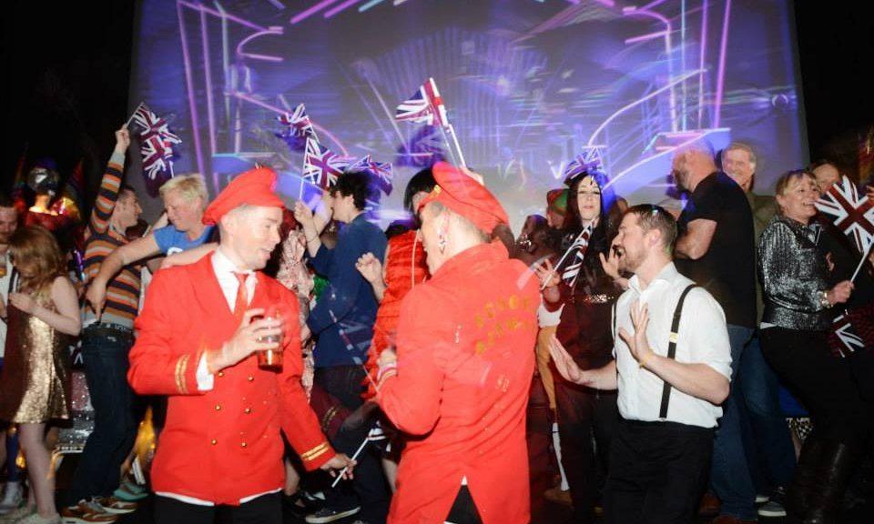 Duke of York cinema party. (photo: The Guardian ' Handout)