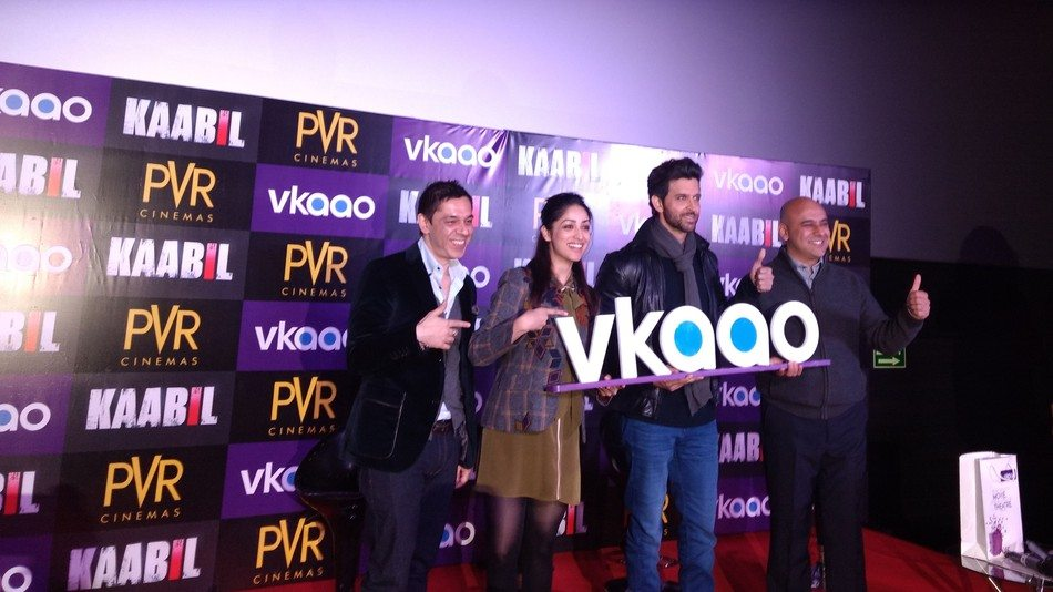 PVR's Vkaao launch. (photo: Mashable)