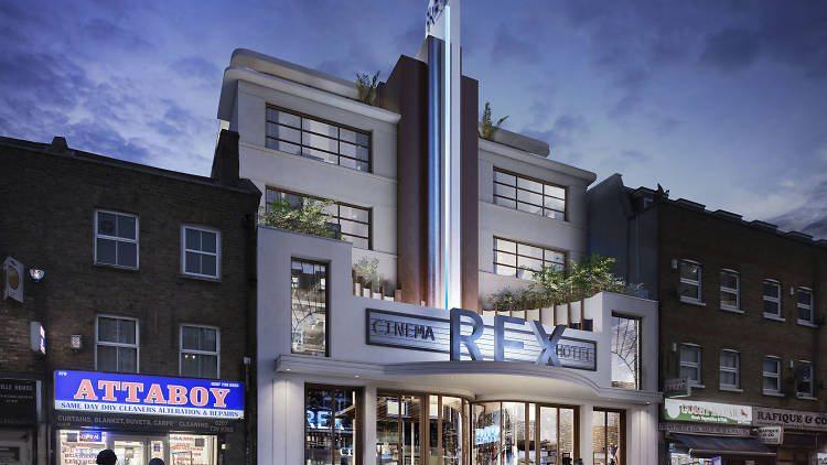 Rex Cinema, Bethnal Green. (image: Southern Standard)