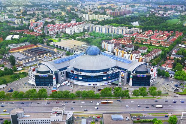 Blue City mall in Warsaw - soon with a Helios cinema. (photo: press materials)