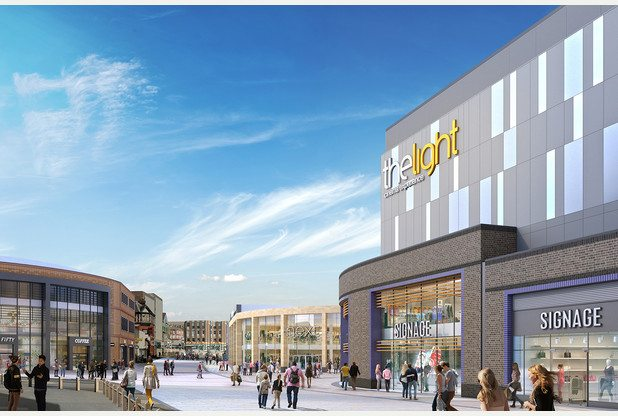 The Light cinema, Unity Walk, Hanley. (image: artist's impression)