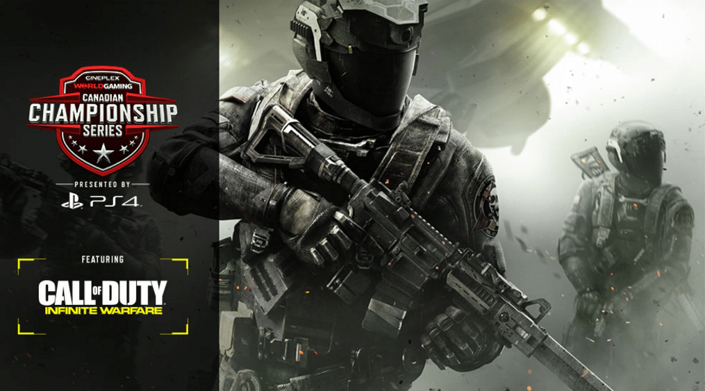 Call of Duty at Cineplex. (image: Cineplex website)
