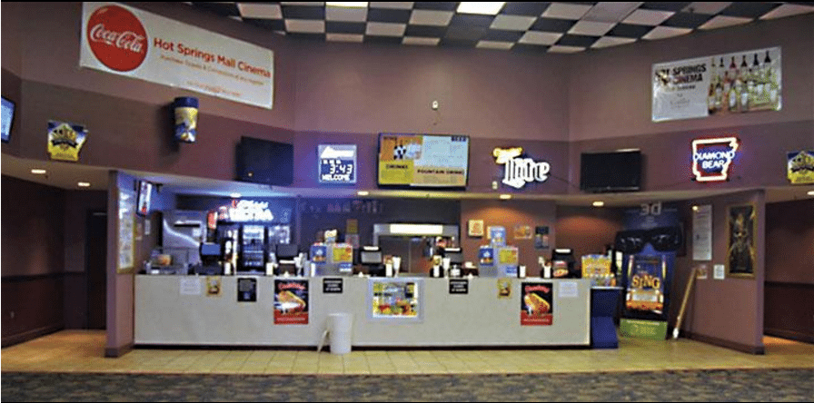 Hot Springs Mall Cinema is going VIP. (photo: Suzanne Sweeten / HS Voice)