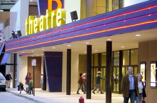 Monopolistic? Marcus Theatre in Lincoln, NE. (photo: LJS)