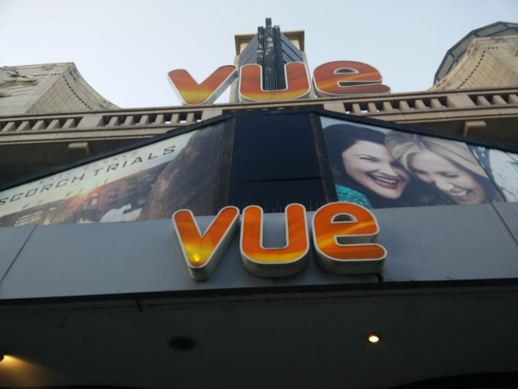 Vue Leicester Square - welcomes all customers. (photo: Patrick von Sychowski / Celluloid Junkie)