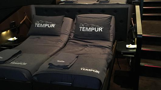 Tempura CGV - gives a whole new meaning to the 'love seat' concept. (photo: Jillian Glickman / CNBC)