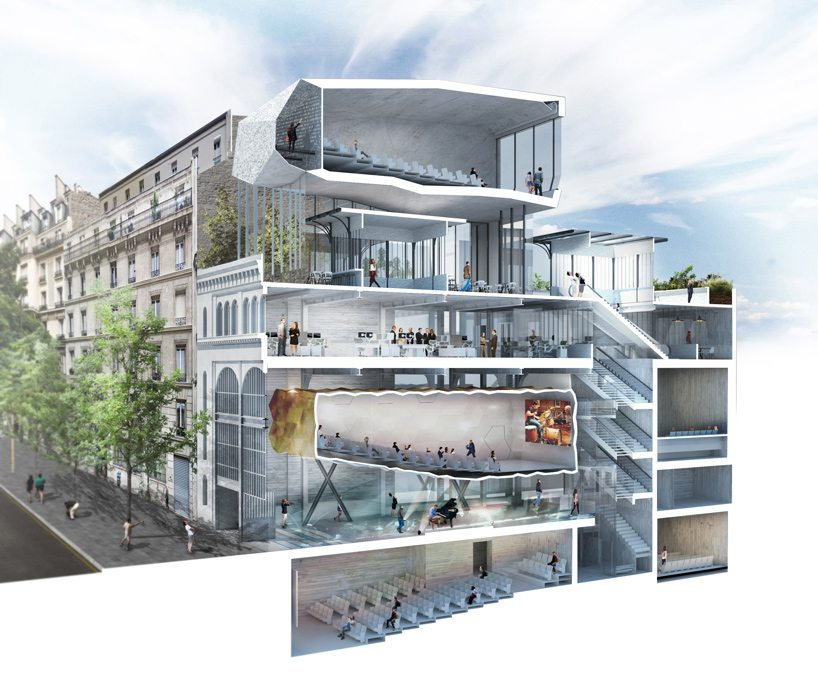 Paris' Etoile Voltaire will open in 2018/19. (image: Olivier Palatre architects)