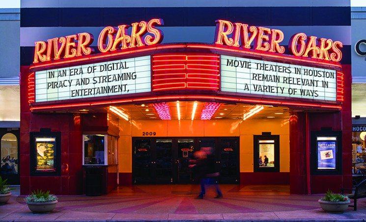 River Oaks Cinema - making cinema going great again.