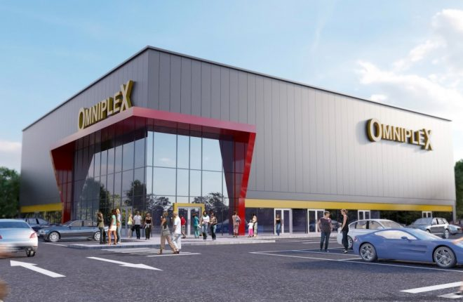 Omaha Omniplex plans. (image: artist's impression)
