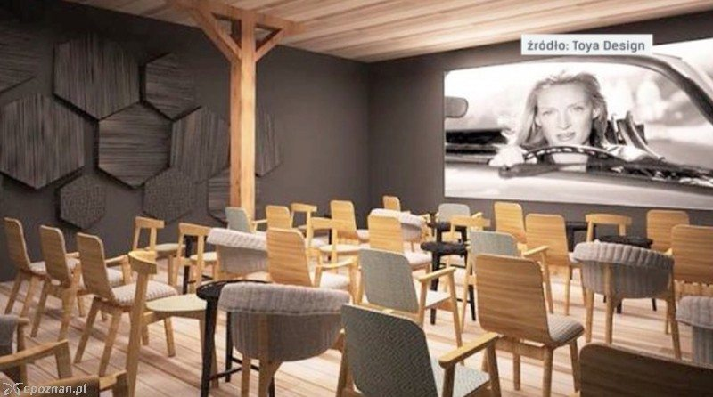 Poznan's Kino Mutz has unusual seats for its new screens. (image: artist's impression)