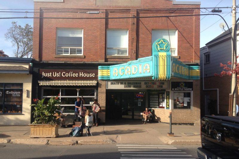 Acadia Cinema in Wolfville, Nova Scotia