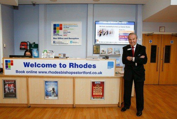 Rhodes Arts Complex Chairman Philip Demonti