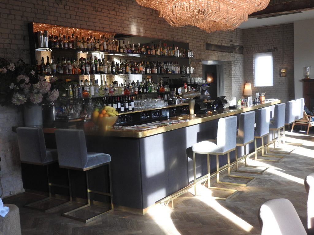 Olympic Studio's Private Members' Club Bar. (photo: Patrick von Sychowski / Celluloid Junkie)