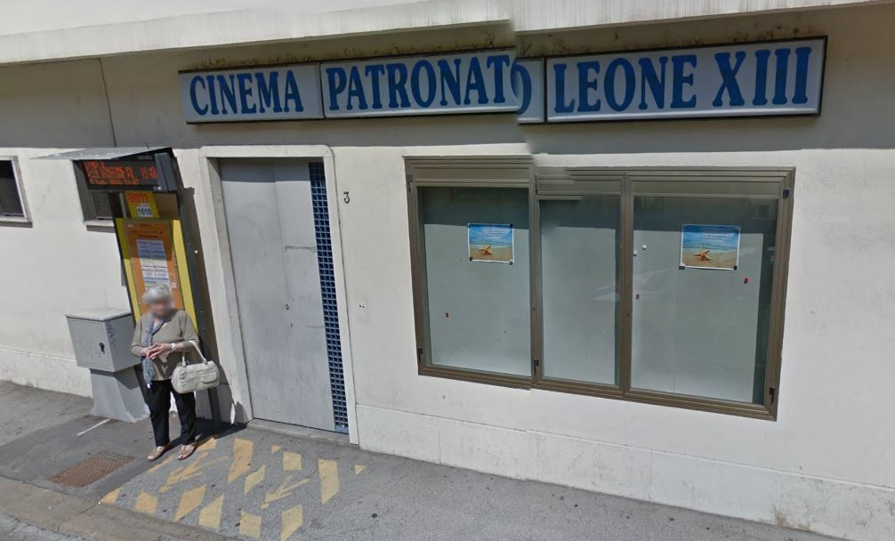 Cinema Patronato Leone XIII. (image: Google Earth)