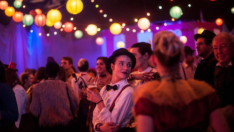 "Secret Cinema ""Moulin Rogue"". (photo: Laura Little / Secret Cinema)"