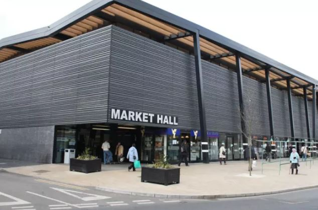 Wakefield Market Hall - no cinema in sight yet. (photo: Wakefield Express)