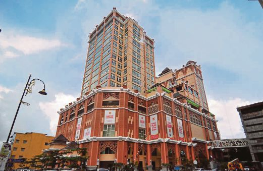 Paya Bunga Central will host the new Lotus five Star cinema. (photo: New Straits Times)