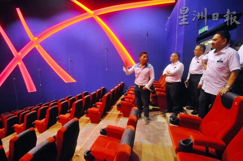 Lotus Five Star cinema opening soon. (photo: Sin Chew Daily)