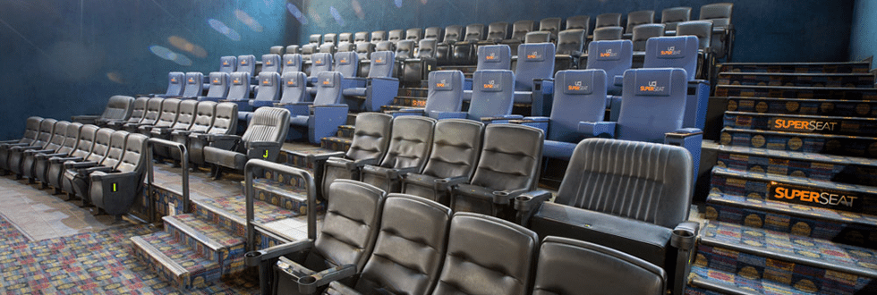 New seating for UCI cinemas in Brazil. (photo: UCI)