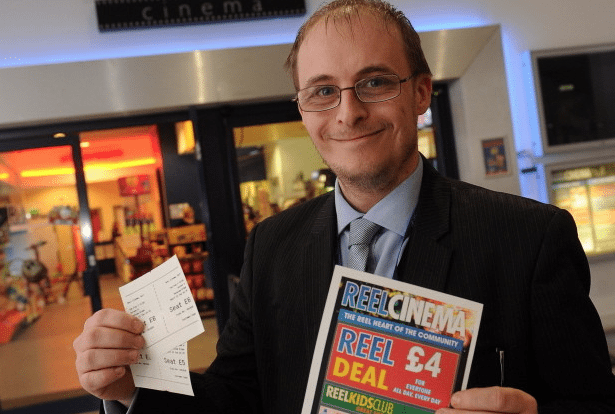 Paul Watson, Reel Cinema, Hull. (photo: Hull Daily Mail)