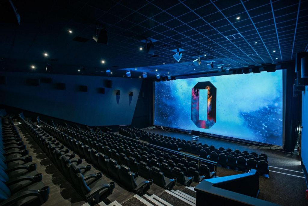 iSense screen in Odeon Bournemouth. (photo: Bournemouth Echo)