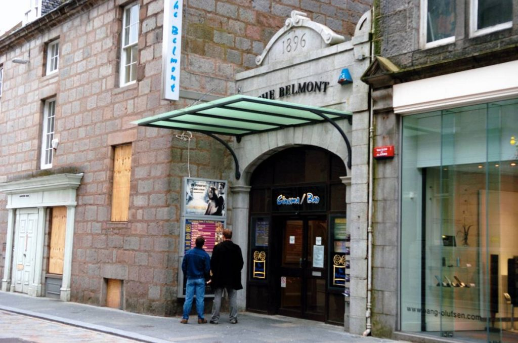 Belmont Cinema, Belmont Street, Aberdeen. (photo: Gordon Lennox)