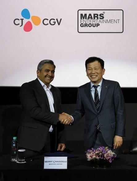 CGV acquired Turkey's Mars cinemas in 2016.