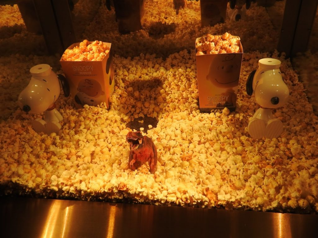Popcorn at CGV cinema in Vietnam HCMC (photo: Patrick von Sychowski / Celluloid Junkie)