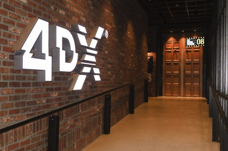 CJ CGV Buena Park Grand Opening - 4DX Theatre Entrance