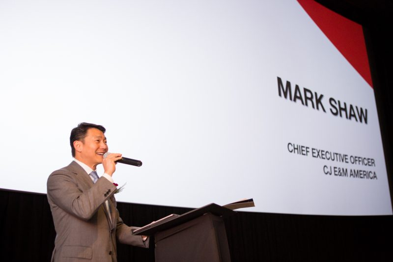 CGV Buena Park Grand Opening - Mark Shaw, CJ CGV America CEO