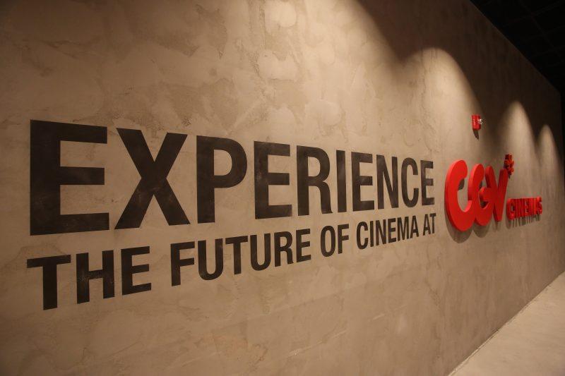 CJ CGV Buena Park Grand Opening - CGV Signage