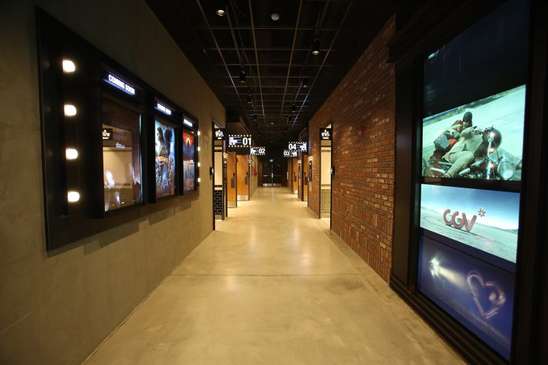 CJ CGV Buena Park Grand Opening - Interior Hallway