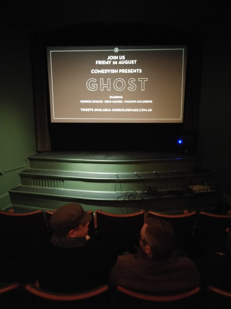 We'll be back. Golden Age Cinema, Sydney. (photo: Patrick von Sychowski - Celluloid Junkie)