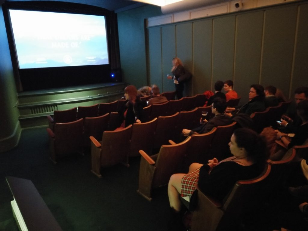 Golden Age Cinema - seats from Zurich! (photo: Patrick von Sychowski - Celluloid Junkie)