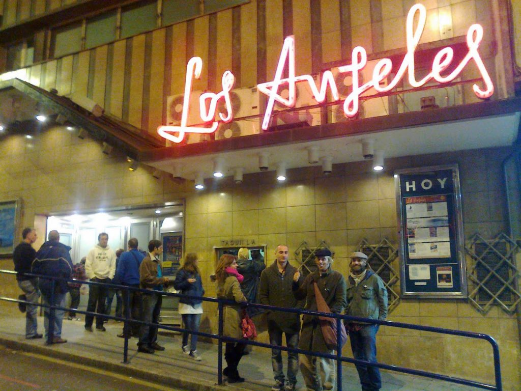 Los Angeles cinema in Santander. (photo: Oficina de hechos)