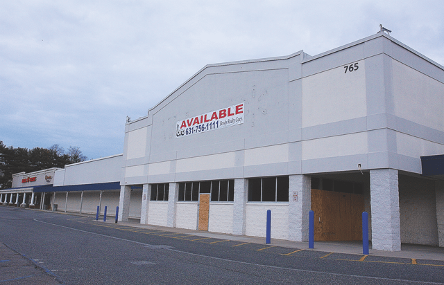 Old Walmart in Riverbed's Route 58. (photo: Riverhead News Review)