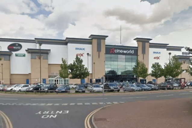 Cineworld Sheffield - 'gremlins' to blame for closure. (image: Google)