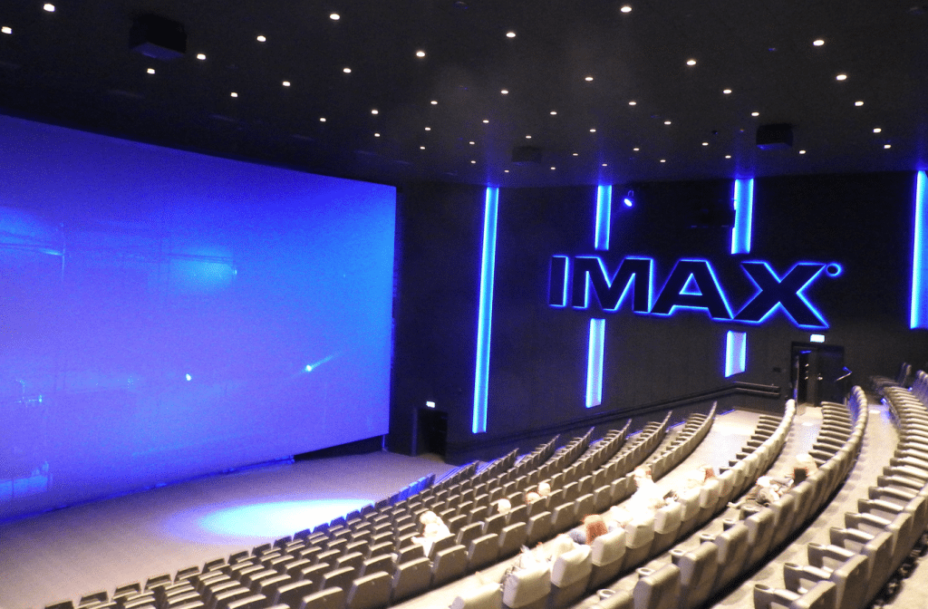 IMAX Screen at SF Bio's Filmstaden Scandinavia